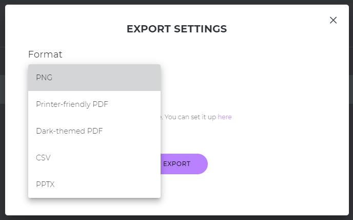 export journey maps